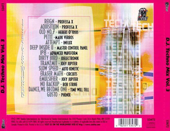 Dj Techno Mix V3 1097