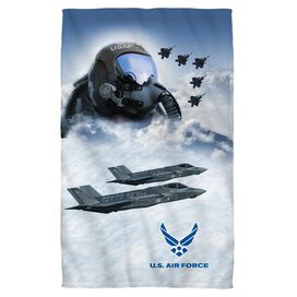 Air Force Pilot Face Hand Towel