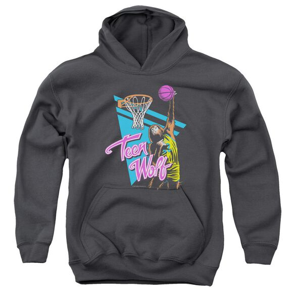 Teen Wolf Slam Dunk Youth Pull Over Hoodie