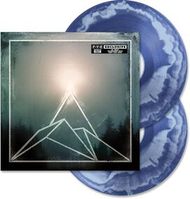 The Used - The Canyon [Exclusive Transparent Blue with Light Blue Swirl Vinyl]