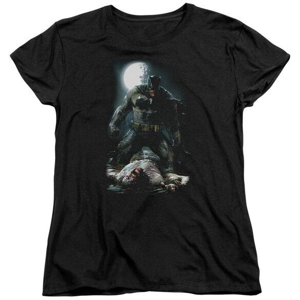 Batman Mudhole Short Sleeve Womens Tee T-Shirt