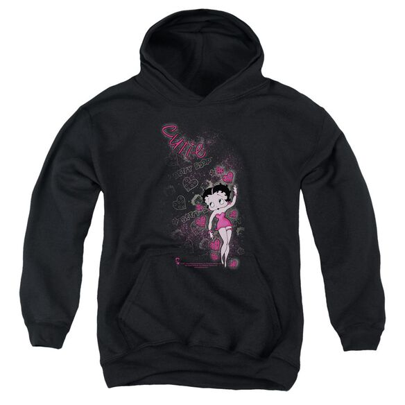 Betty Boop Cutie Youth Pull Over Hoodie