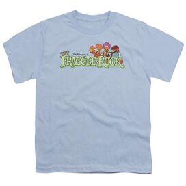 Fraggle Rock Leaf Logo Short Sleeve Youth Light T-Shirt