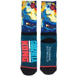 Godzilla vs. Kong Crew Socks
