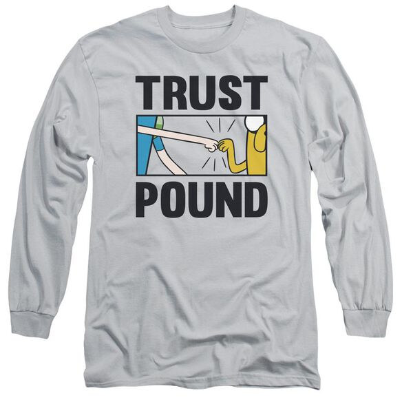 Adventure Time Trust Pound Long Sleeve Adult T-Shirt