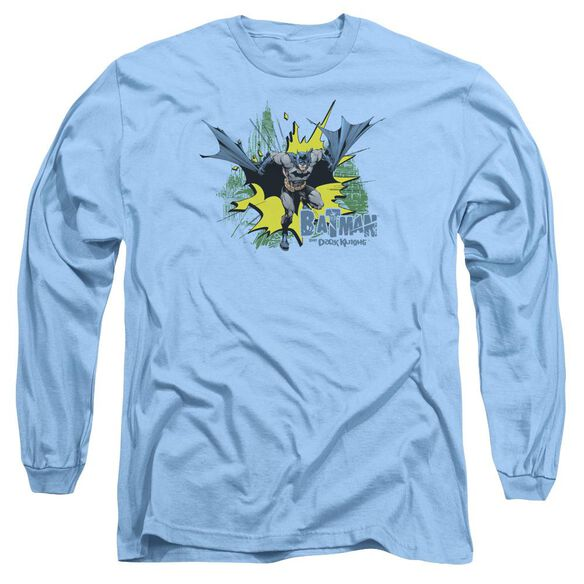 Batman City Splash Long Sleeve Adult Carolina T-Shirt