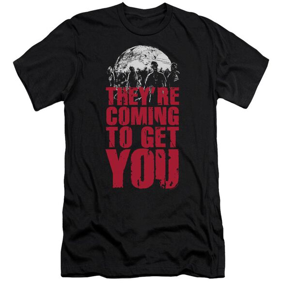 Theyre Coming To Get You Short Sleeve Adult T-Shirt