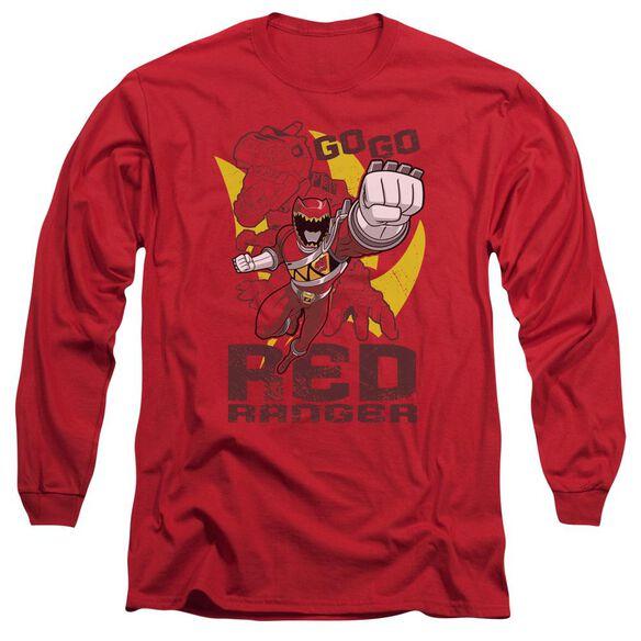 Power Rangers Go Long Sleeve Adult T-Shirt