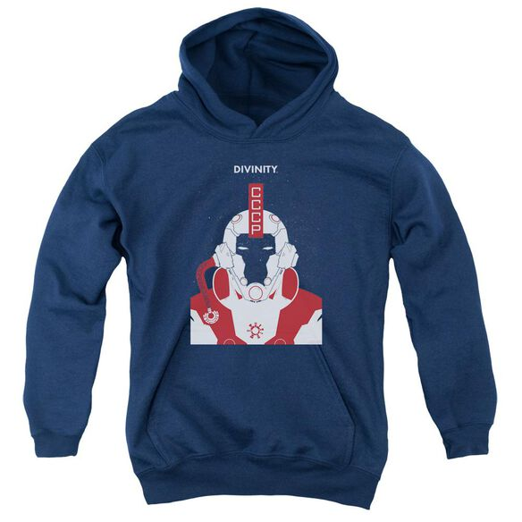 Valiant Divinity Helmet Youth Pull Over Hoodie
