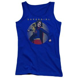 Supergirl Classic Hero Juniors Tank Top Royal