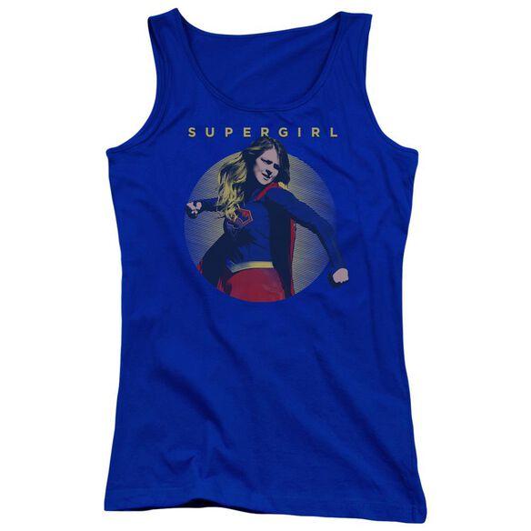 Supergirl Classic Hero Juniors Tank Top Royal