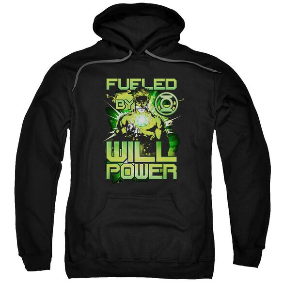 Green Lantern Fueled Adult Pull Over Hoodie