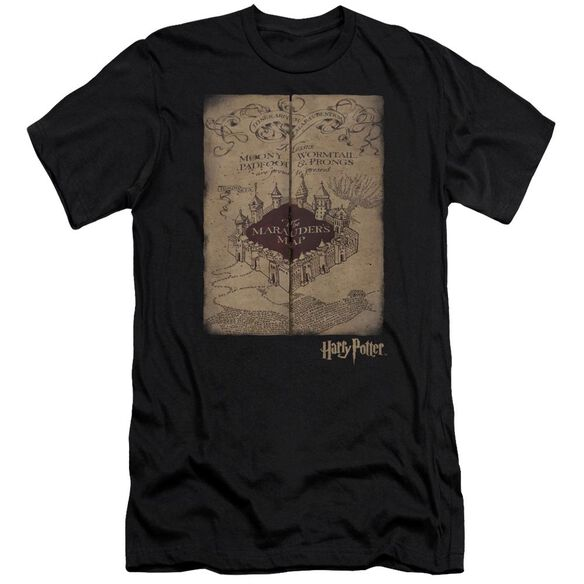 Harry Potter Marauders Map Hbo Short Sleeve Adult T-Shirt