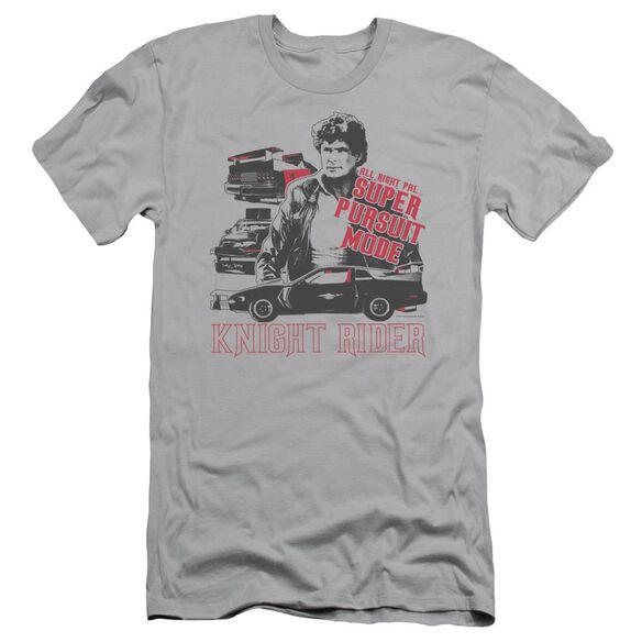 Knight Rider Super Pursuit Mode Short Sleeve Adult T-Shirt