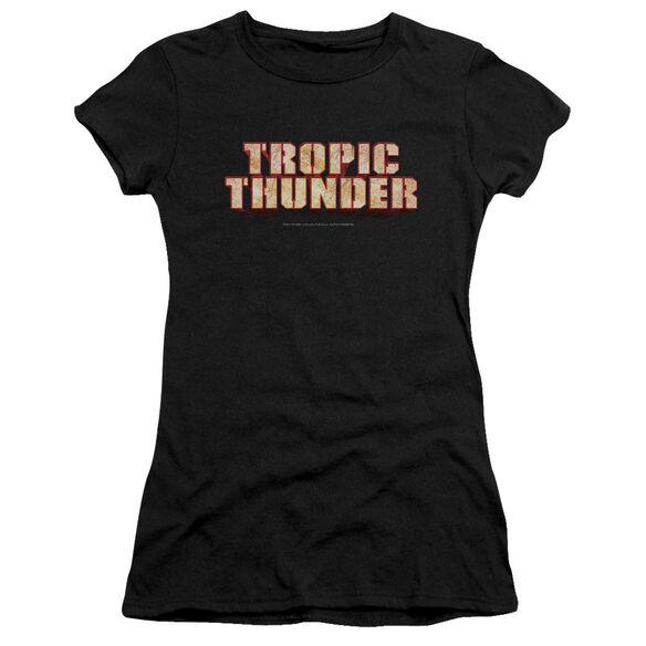 Tropic Thunder Title Premium Bella Junior Sheer Jersey
