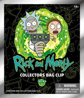 Rick and Morty Collector's Bag Clip [Series 4] - 3D Foam Bag Clip in Blind Bag