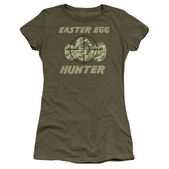 The Hunt Short Sleeve Junior Sheer Military T-Shirt