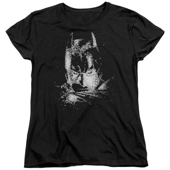 Dark Knight Batman Bat Head Short Sleeve Womens Tee T-Shirt