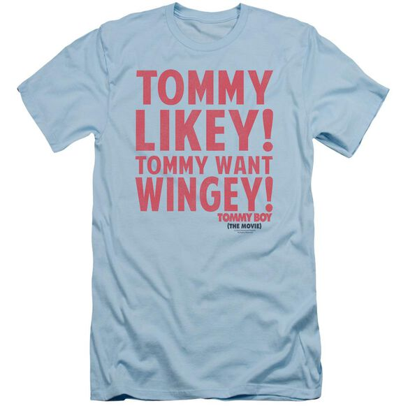 Tommy Boy Want Wingey Short Sleeve Adult Light T-Shirt