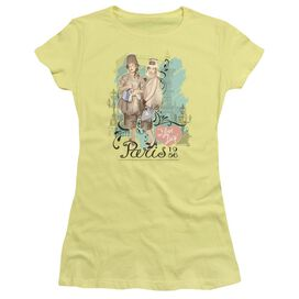 I Love Lucy Paris Dress Short Sleeve Junior Sheer T-Shirt