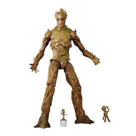 Guardians of the Galaxy Marvel Legends Groot Evolution Action Figures Set