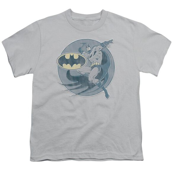 Dco Retro Batman Iron On Short Sleeve Youth T-Shirt