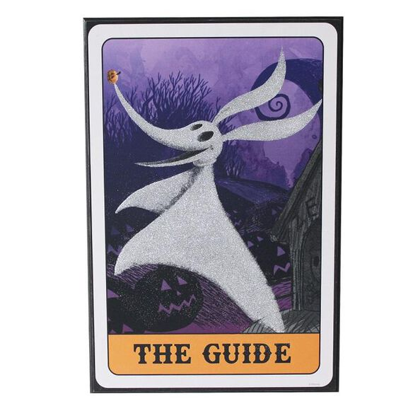 Nightmare Before Christmas - The Guide Glitter Wall Art
