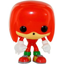 Sonic the Hedgehog Knuckles Pop Games Vinyl Figurine
