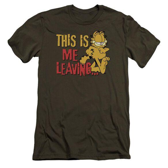 Garfield Leaving Premuim Canvas Adult Slim Fit Military