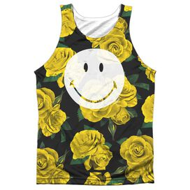 Smiley World Rosey Smile Adult Poly Tank Top