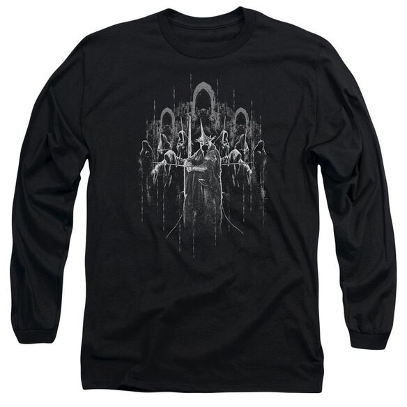Lord Of The Rings The Nine Long Sleeve Adult T-Shirt