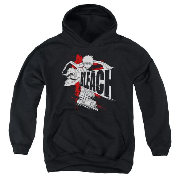 Bleach Sword Drawn Youth Pull Over Hoodie