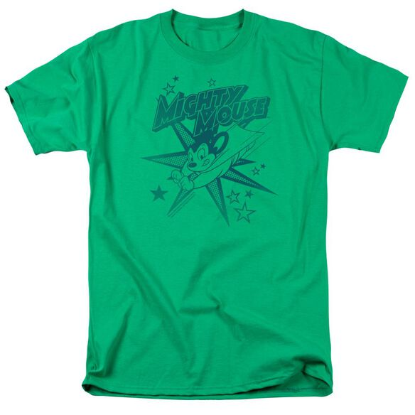 Mighty Mouse Mighty Mouse Short Sleeve Adult Kelly T-Shirt
