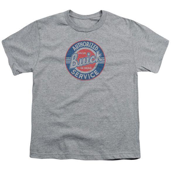 Buick Authorized Service Short Sleeve Youth Athletic T-Shirt
