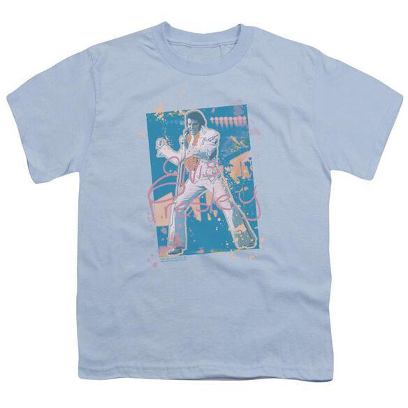 Elvis Splatter Hawaii Short Sleeve Youth Carolina T-Shirt