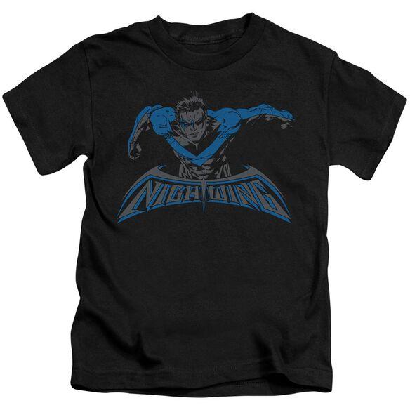 Batman Wing Of The Night Short Sleeve Juvenile T-Shirt