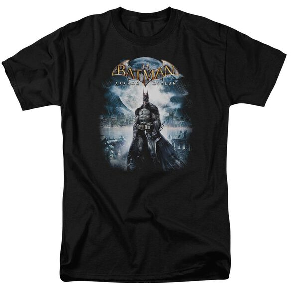 BATMAN AA GAME COVER - S/S ADULT 18/1 - BLACK T-Shirt