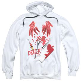 Dexter Tools Of The Trade Adult Pull Over Hoodie