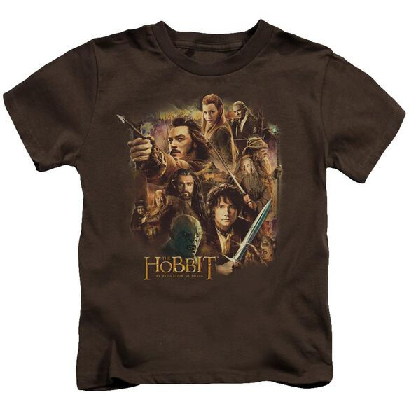 Hobbit Middle Earth Group Short Sleeve Juvenile T-Shirt