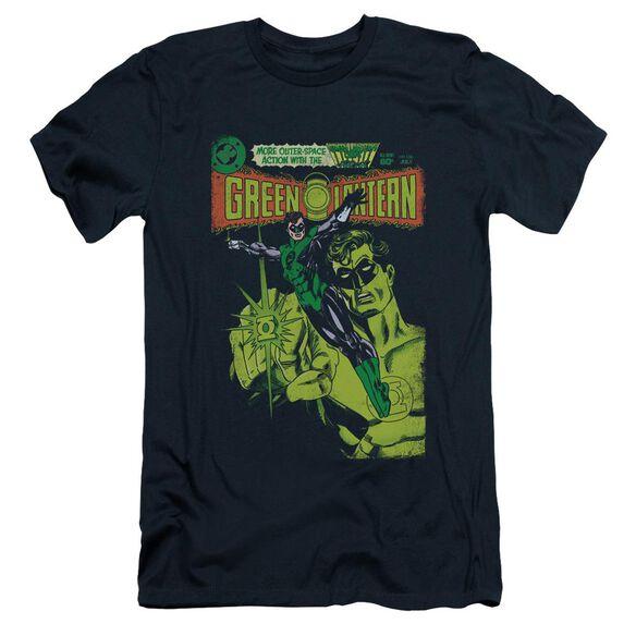 Green Lantern Vintage Cover Short Sleeve Adult T-Shirt