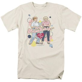 I LOVE LUCY ITS FRIENDSHIP - S/S ADULT 18/1 - CREAM T-Shirt