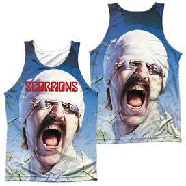 Scorpions Blackout (Front Back Print) Adult Poly Tank Top