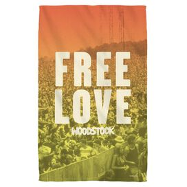 Woodstock Quoteable Towel White