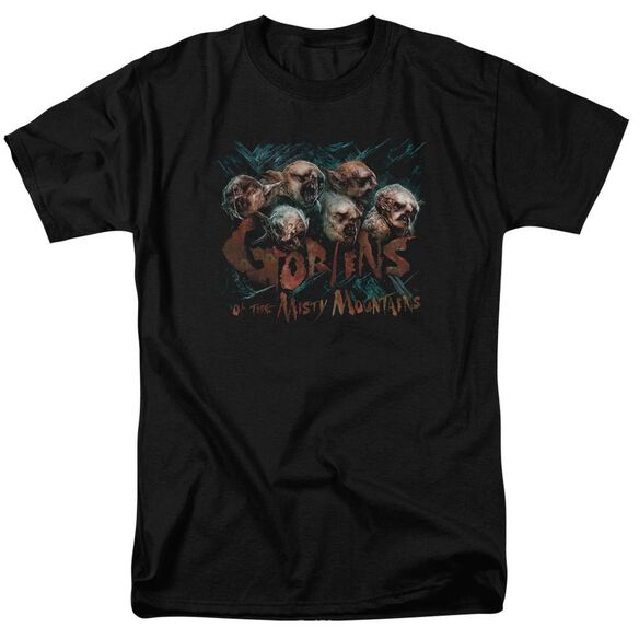 The Hobbit Misty Goblins Short Sleeve Adult T-Shirt