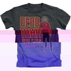 STAR TREK DEAD MAN WALKING - S/S JUVENILE 18/1 - CHARCOAL - T-Shirt