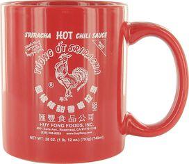 Sriracha Label Mug