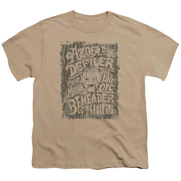 Hobbit Azog Short Sleeve Youth T-Shirt