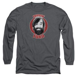 Last Man On Earth Friggin Turd Long Sleeve Adult T-Shirt
