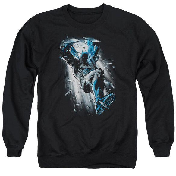 Batman Bat Crash Adult Crewneck Sweatshirt
