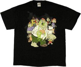 Family Guy Zombies T-Shirt